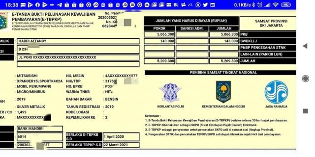 Cek Pajak Kendaraan Online Jawa Barat, Ini Caranya (217973)
