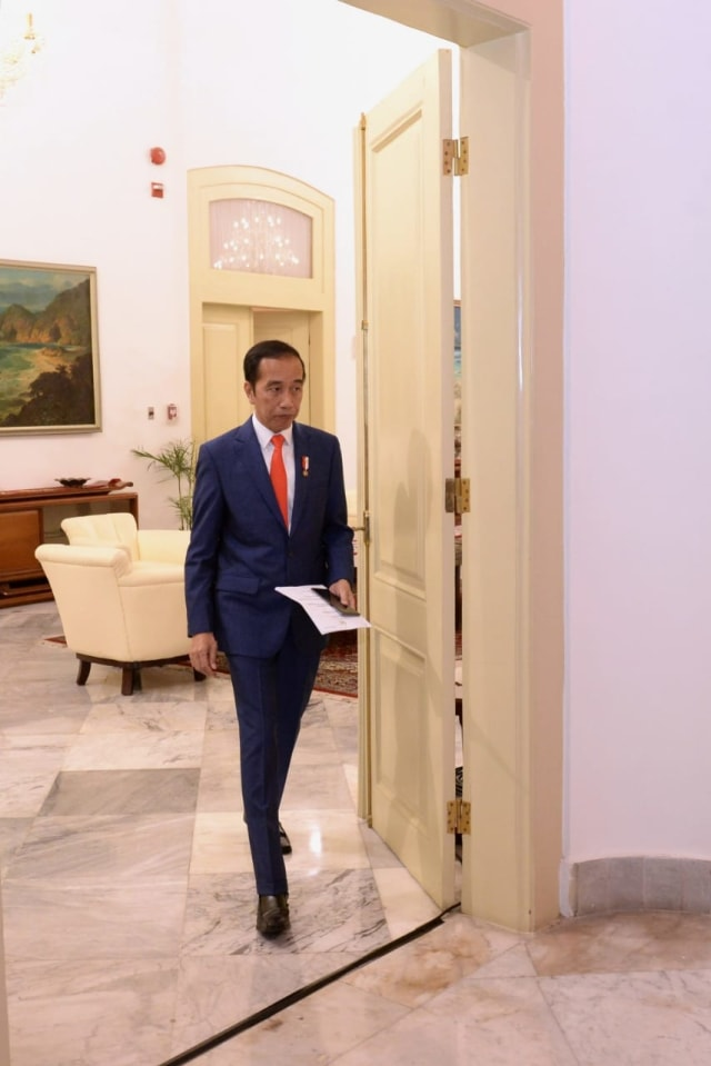 PTR - Presiden Joko Widodo