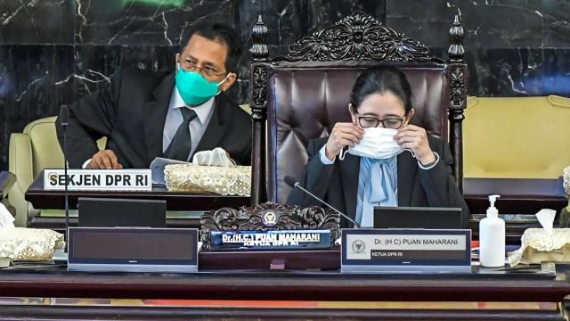 Cerita Puan Akui Matikan Mikrofon Anggota DPR Demokrat di Paripurna UU Ciptaker (96838)