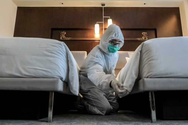 Kemenparekraf Siapkan Rp 100 M untuk Hotel Isolasi Pasien OTG COVID-19 (29630)