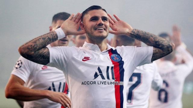 Rumor Transfer: PSG dan Napoli Berebut Mauro Icardi (1264408)