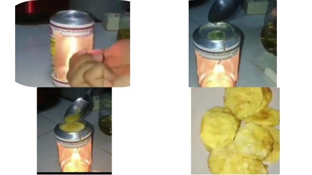 Lilin dan Kaleng Bisa Jadi Alat untuk Buat Telur Mini ala Anak Kos  (30726)