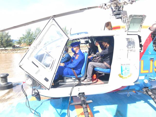 Polairud Aceh Tingkatkan Patroli Udara Pantau Pergerakan 2 Kapal Rohingya (118677)