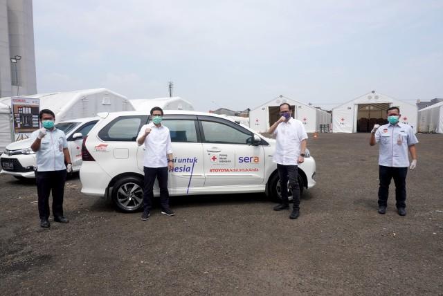 Toyota & SERA Sediakan 68 Unit Avanza Untuk Tenaga Medis Selama Corona (5008)