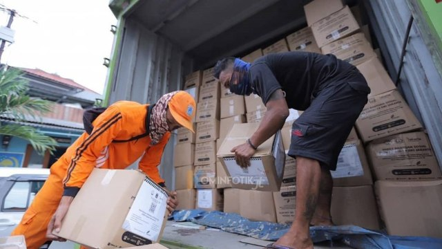 Distribusi bansos DKI Jakarta tahap dua