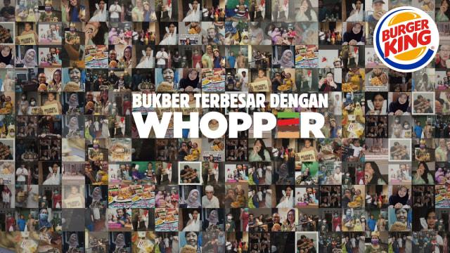 Burger King Bagikan 2.000 Whopper Buat Buka Bersama 300 Keluarga di Jakarta (281421)