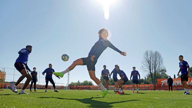 Latihan Atletico Madrid