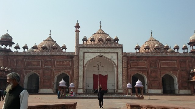 Kisah Agra Jama Masjid di India, Hadiah Ayah Untuk Putri Kesayangan (91130)