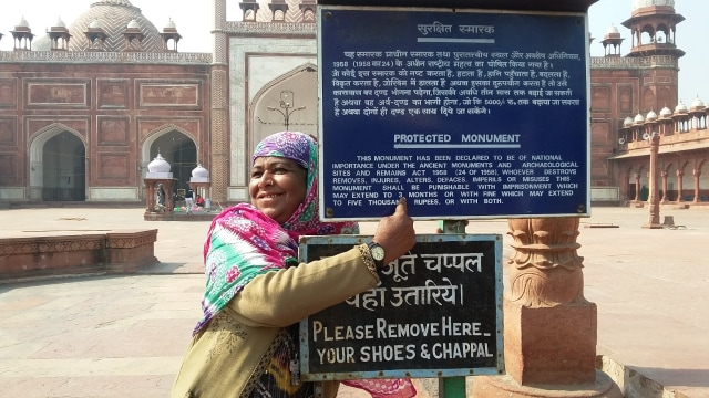 Kisah Agra Jama Masjid di India, Hadiah Ayah Untuk Putri Kesayangan (91132)