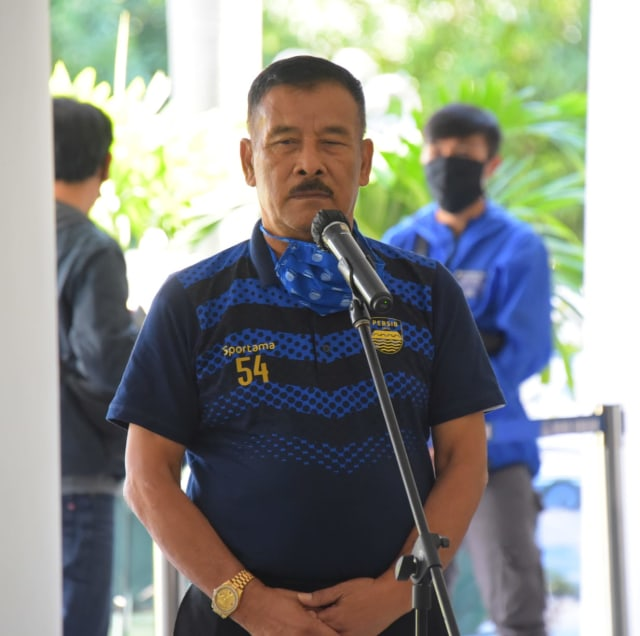 Persib Beri Bantuan, Gubernur Jabar Ajak Bobotoh Taat Aturan (1250100)