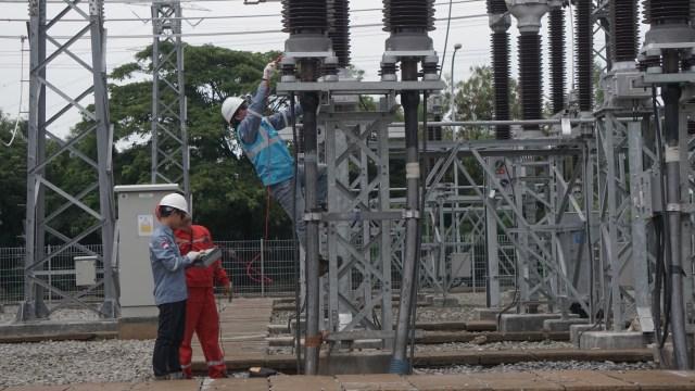 Ilustrasi gardu listrik PLN