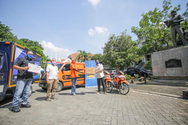 Dukung Mobilitas Logistik di Tengah Pandemi, Top 1 Sumbang Masker dan Pelumas (132516)