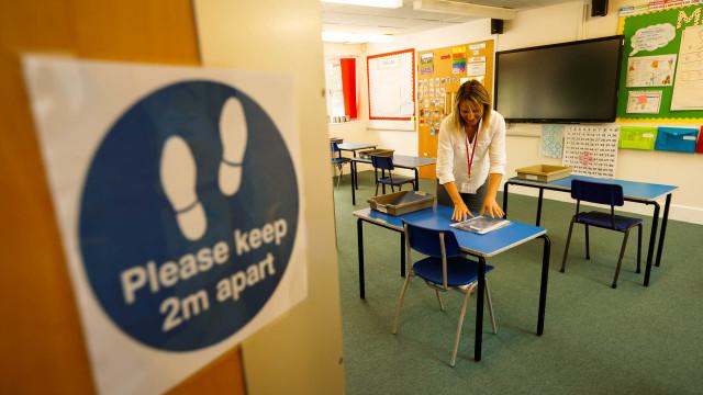 Foto: Persiapan Sekolah di Inggris Sebelum Dibuka Kembali (84975)