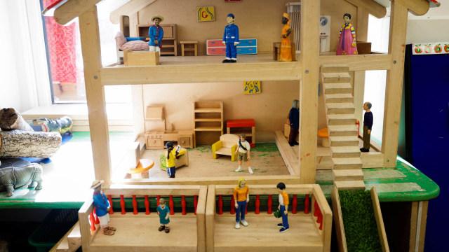 Foto: Persiapan Sekolah di Inggris Sebelum Dibuka Kembali (84980)
