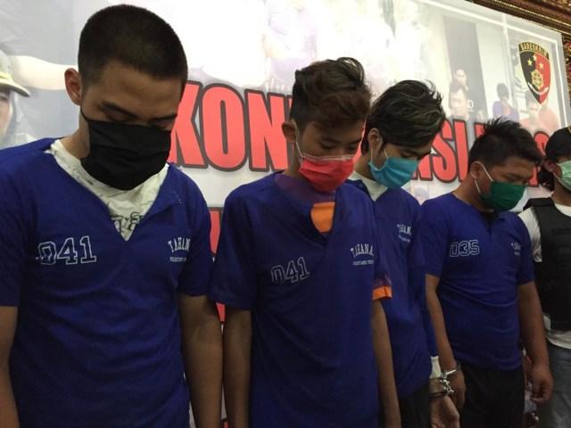 Rilis pembunuhan tukang becak di Semarang