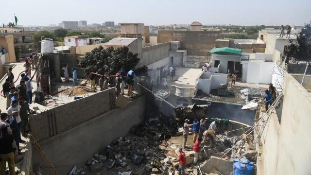 Kemlu: Tidak Ada Penumpang WNI di Pesawat Jatuh di Pakistan (160273)