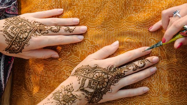 Ilustrasi henna