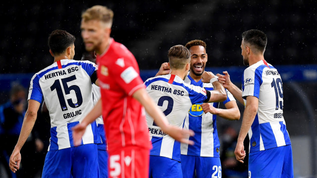 Bundesliga: Hertha Berlin Bekuk Union Berlin Empat Gol Tanpa Balas (51233)
