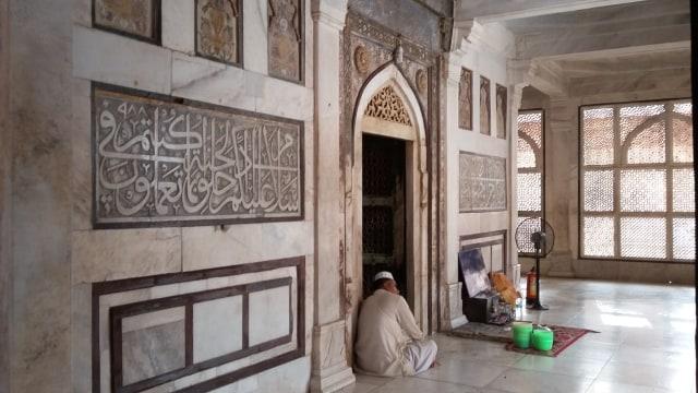 Tuah Ulama dan Pesona Gerbang Kemenangan di Masjid Fatehpur Sikri, India (5070)