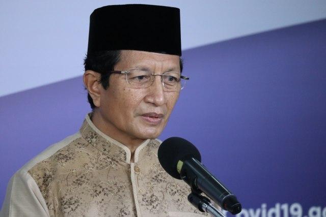 Imam Besar Masjid Istiqlal Nasaruddin Umar.