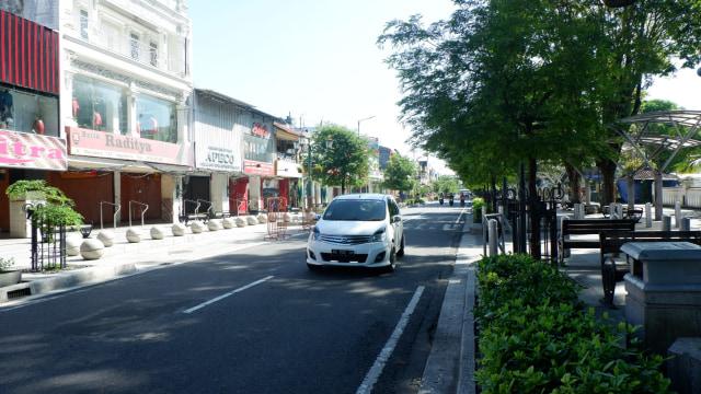 Suasana lebaran di Yogyakarta