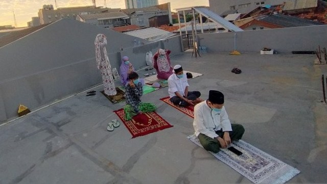DMI: 36 Masjid di Jakarta Masih Gelar Salat Idul Adha (8395)