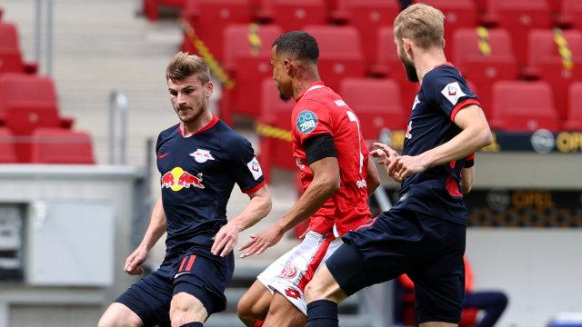 Timo Werner Cetak Hat-trick, Leipzig Gasak Mainz 5-0 (648408)