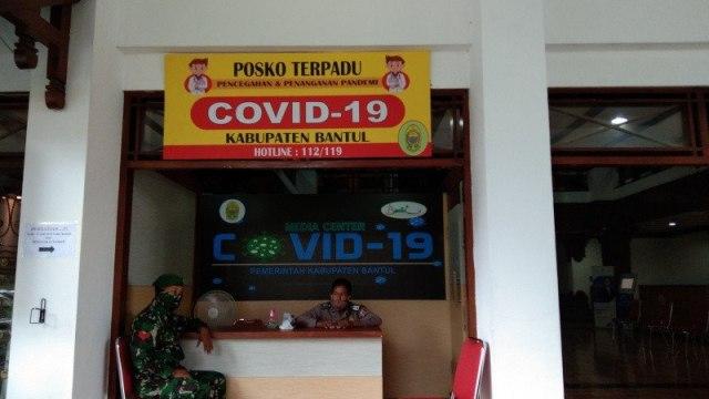 Pemerintah dan Satgas COVID-19 Buat Posko Desa Tangguh  (11881)