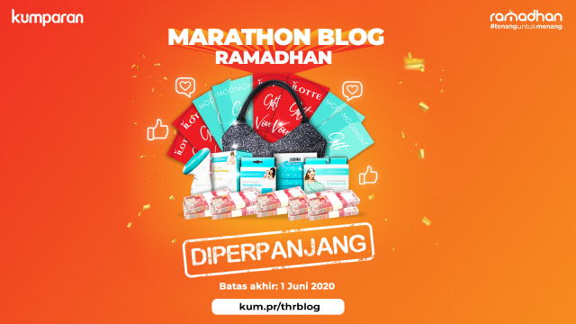 Marathon Blog Ramadhan Berhadiah THR Jutaan Rupiah! (249494)
