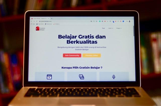 GratisinBelajar.com, Platform Kelas Online Gratis yang Tandingi Prakerja (161738)