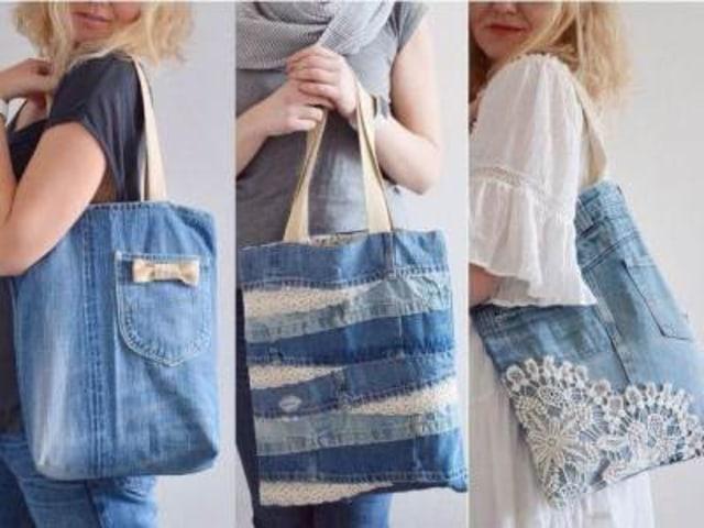 Yuk, Manfaatkan Jeans Bekasmu Jadi Tas yang Fashionable (649270)