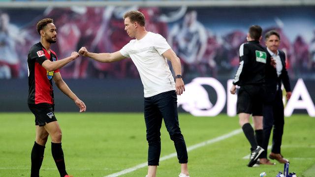 Bundesliga: RB Leipzig Ditahan Hertha Berlin, Julian Nagelsmann Keluhkan Jadwal (651455)