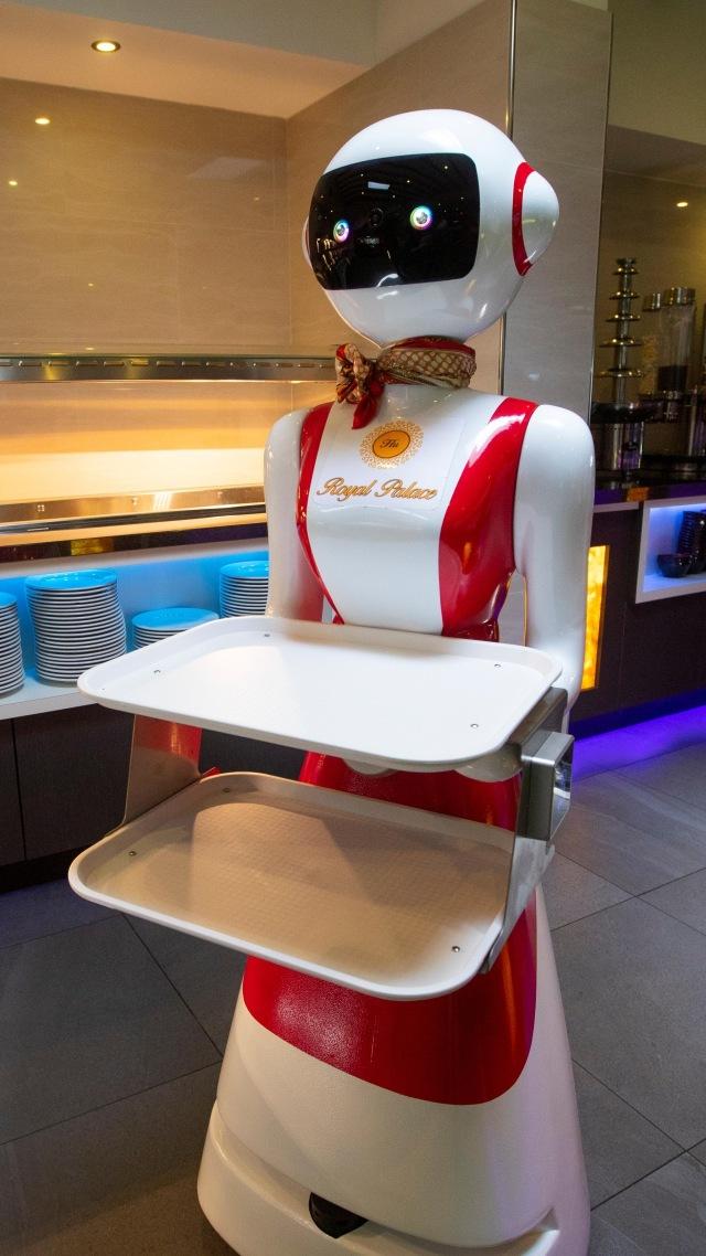 PTR- Robot pelayan restoran di Belanda