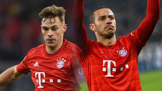 """Menaruh Label """"Terbaik Dunia"""" pada Poros Ganda Bayern Muenchen, Kimmich-Thiago (82503)"""