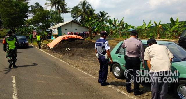 Penyekatan di Cibadak Sukabumi, 403 Kendaraan Dipaksa Putar Balik (79206)