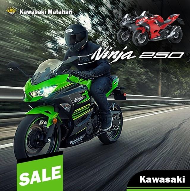 Diskon Kawasaki Ninja 250 Fi Tembus Rp 8 Juta, Siapa Minat? (82992)