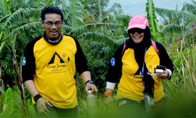 Trekking Perbukitan Dusun Kopi di Garut, Jawa Barat (38631)