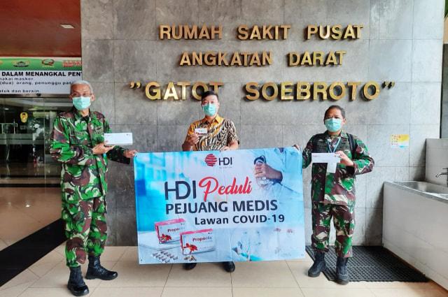 Himpun Dana Miliaran, HDI Dukung Perang Lawan COVID-19  (13962)