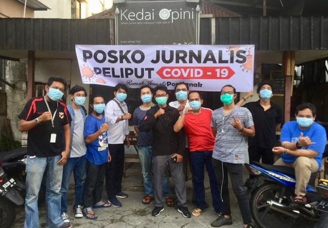 Melihat Gerakan Sosial Jurnalis di Kalbar Bantu Warga yang Terdampak COVID-19 (237269)