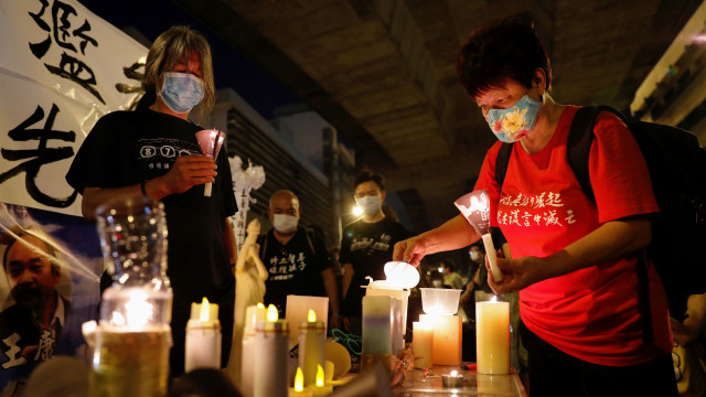 Peringatan tiananmen di Hong Kong