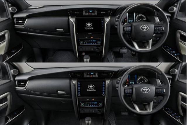 10 Perbedaan Toyota Fortuner 2020 dan Tipe Legender (205463)