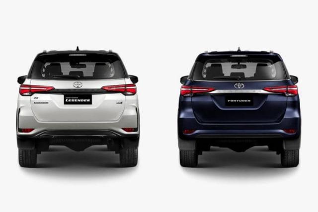 10 Perbedaan Toyota Fortuner 2020 dan Tipe Legender (205462)