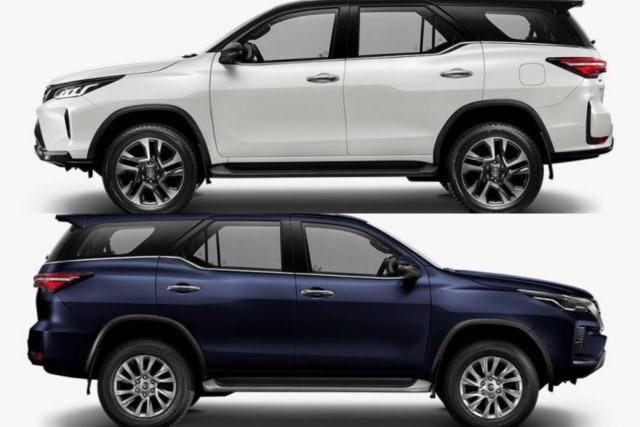 10 Perbedaan Toyota Fortuner 2020 dan Tipe Legender (205461)
