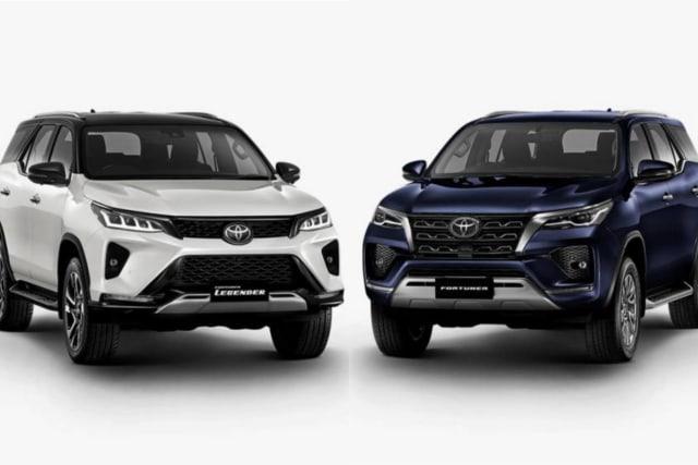 10 Perbedaan Toyota Fortuner 2020 dan Tipe Legender (205455)