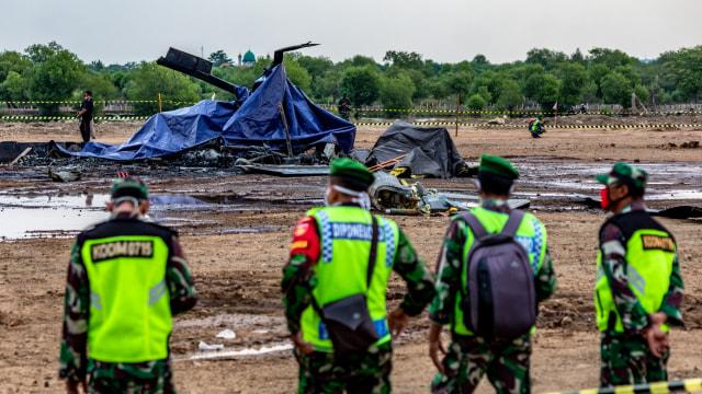 Libatkan KNKT, KSAD Pastikan All Out Investigasi Jatuhnya Heli Mi-17 di Kendal (576485)