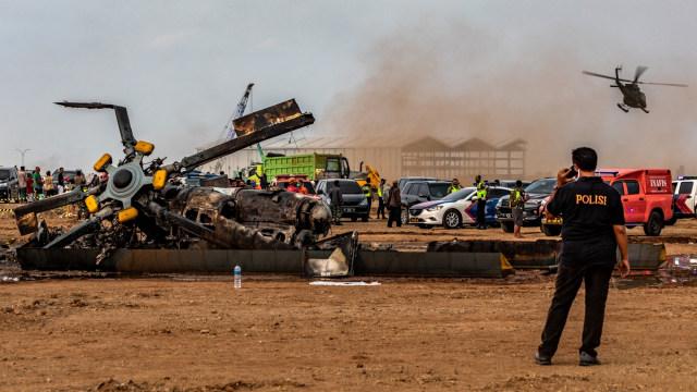 Libatkan KNKT, KSAD Pastikan All Out Investigasi Jatuhnya Heli Mi-17 di Kendal (576483)