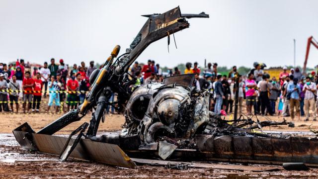 Libatkan KNKT, KSAD Pastikan All Out Investigasi Jatuhnya Heli Mi-17 di Kendal (576486)