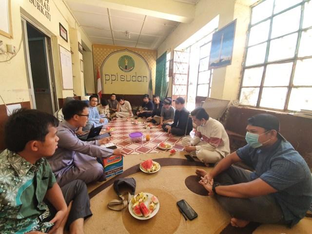Mahasiswa di Sudan Kesulitan untuk Kembali ke Indonesia (88167)