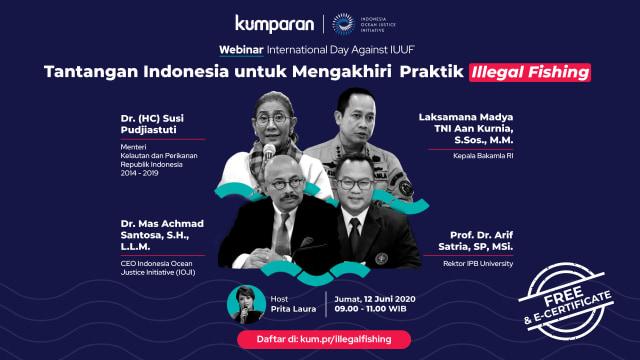 Kerugian Indonesia karena Illegal Fishing Capai Rp 56 Triliun per Tahun (822352)