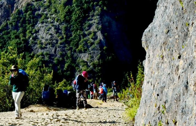 Menikmati Pendakian Gunung Papandayan di Garut (10538)